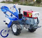 Ce do trator da roda do trator de exploração agrícola dois do trator da mão 12HP