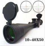 거리측정기 유리 대물경선망을%s 가진 10-40X50 30mm 직경 관 광학 소총 범위
