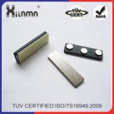 Distintivo di nome magnetico del neodimio dei supporti di distintivo magnetico del metallo di alta qualità