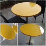 カスタマイズされた現代デザイン固体表面のファースト・フードのダイニングテーブル