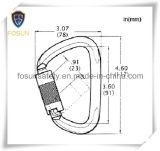 Metallo Carabiner (DS24-2) degli accessori del cavo di sicurezza