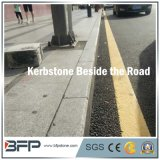 Chinese Grijze Natuurlijke Steen/Kerbstone van het Graniet voor de BuitenProjecten van de Infrastructuur van de Weg