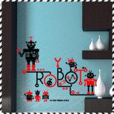 Etiqueta do contexto de Windows do robô dos desenhos animados do quarto de crianças do presente