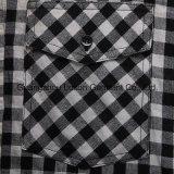 최신 판매 고전적인 형식 순수한 색깔 소녀의 셔츠