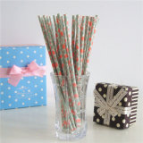 Papier Fleur potable Straws flexible