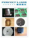Bijou/boucle/code/logo/borne portative de laser de fibre non-métal en métal