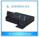 Receptor satélite elevado Zgemma H.S do ósmio Enigma2 DVB-S2 do linux do processador central com o cartão livre de 8GB SD