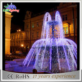 Свет света праздника света украшения рождества белый и голубой рождества СИД светлый мотива 3D фонтана