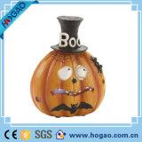 Zucca personalizzata unica della resina per la decorazione di Halloween