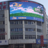 Colore completo locativo esterno che fa pubblicità al video schermo P16