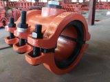 Bride H125X200, couplage de réparation de pipe, chemise de réparation de pipe de réparation de pipe pour la pipe de fer de moulage, pipe malléable de fer, réparation rapide disjointe de pipe