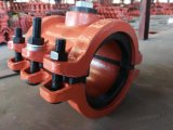 Riparare il morsetto, il collare di riparazione, il collare di incapsulamento, collare spaccato per il tubo diritto H125X200 del ferro
