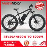 """20 """" 26 """" سمين إطار العجلة إدارة وحدة دفع منتصفة درّاجة كهربائيّة [750و] كثّ مكشوف"""