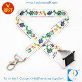 고품질은 중국에서 공장 가격에 축제를 위한 로고에 의하여 인쇄된 방아끈을 주문을 받아서 만들었다