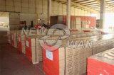A prancha de madeira do andaime do LVL do pinho irradia a madeira H20 do LVL