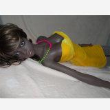 最上質の暗い外観の美しい人形の性のおもちゃ(132cm)