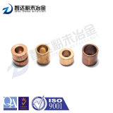 Buje sinterizado de la metalurgia de polvo con Shaped cilíndrico