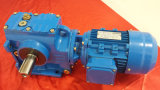 S serie Helical Worm und Wheel Gearbox für WS 3 Phase Motor