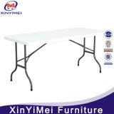 [6فت] طويلة يطوي طاولة بلاستيكيّة لأنّ خارجيّ