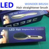Spazzola del raddrizzatore dei capelli del LED