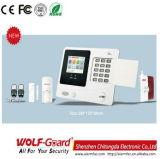GSM het Systeem van de Alarminstallatie van de Veiligheid van het Huis met het Scherm van de Kleur