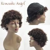 Parrucche naturali dei capelli umani dell'onda dei capelli di 80% delle parrucche dell'onda lunga indiana non trattata del corpo