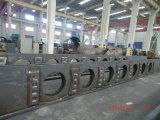 Montaggio - parentesi per la cremagliera marina a sollevamento idraulico della piattaforma