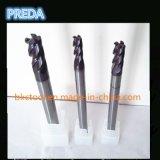 CNC резцов HRC60 радиуса внешнего закругления карбида Preda