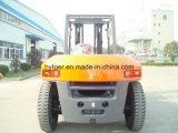 Dieselgabelstapler 10ton mit Gabel-Schellen (FD100T)