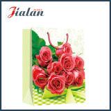 Подарка покупкы бумаги цвета слоновой кости роз дня Valentine мешок красного бумажный