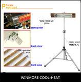 Objeto que se calienta del calentador del calentador al aire libre impermeable de la comodidad directo