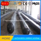 de Duiker die van 0.9*17m Opgeblazen RubberBallons voor Concrete Bouw maken