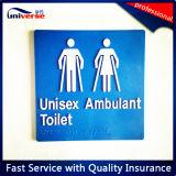 Toilet를 위한 높은 Quality ABS 브라유 Signage