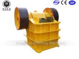 Frantoio a mascella del motore diesel della strumentazione di estrazione dell'oro mini piccolo da vendere
