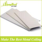 Teto linear de alumínio do metal de Foshan para a decoração interior