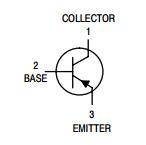 De Transistor Bc557b van de versterker van Elektronische Component voor de Assemblage van PCB
