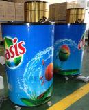 65L 압축기 유리제 뚜껑을%s 가진 냉각 배럴 냉각기