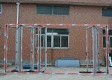 Porte de pliage en aluminium d'interruption thermique de la qualité Kz263