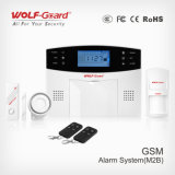 Color LCD Screen를 가진 GSM Wireless Home Alarm System Wireless 100개의 지역 Security System GSM Alam Yl-007m2b
