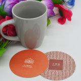 Práctico de costa de papel/estera impermeable de la taza de té/práctico de costa de papel absorbente de la cerveza