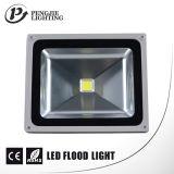 2017 luz de inundação ao ar livre do diodo emissor de luz da venda quente 50W com Ce RoHS (IP65)