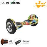 Bluetoothの10inchバランス2の車輪の電気自己のバランスをとるEスクーター