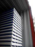 El panel de emparedado del EPS para la casa prefabricada, el panel de emparedado del poliuretano