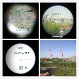 10X25 telemetro tenuto in mano del laser di golf del telemetro (700 tester di distanza)