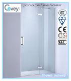 Tela de chuveiro do vidro Tempered do banheiro com Ce/SGCC/CCC (A-KW06-D)