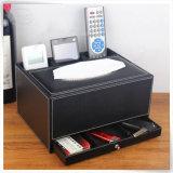알맞은 가격 PU 가죽 현대 자주색 책상 폴더 조직자