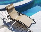 Nuova presidenza di salotto esterna poco costosa di Sun di svago del raggruppamento dell'hotel con la fibra di alluminio della tessile