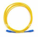 Cavo di zona ottico di fibra ottica della fibra del ponticello LC-Sc
