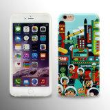 iPhone 6s плюс случай сотового телефона изготовленный на заказ крышки Patter передвижной