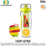 BPA освобождают пластичную бутылку воды Infuser плодоовощ, оптовую бутылку воды спорта Tritan (HDP-0765)